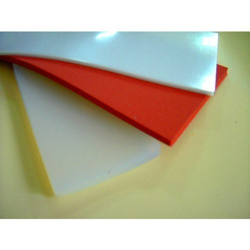 Rubber Sheets - Silicone Rubber Sheets Exporter from